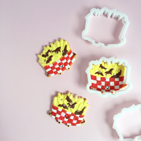 Queenie's Cards Poutine Cookie Cutter