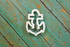 Rose Anchor Nautical Cookie Cutter