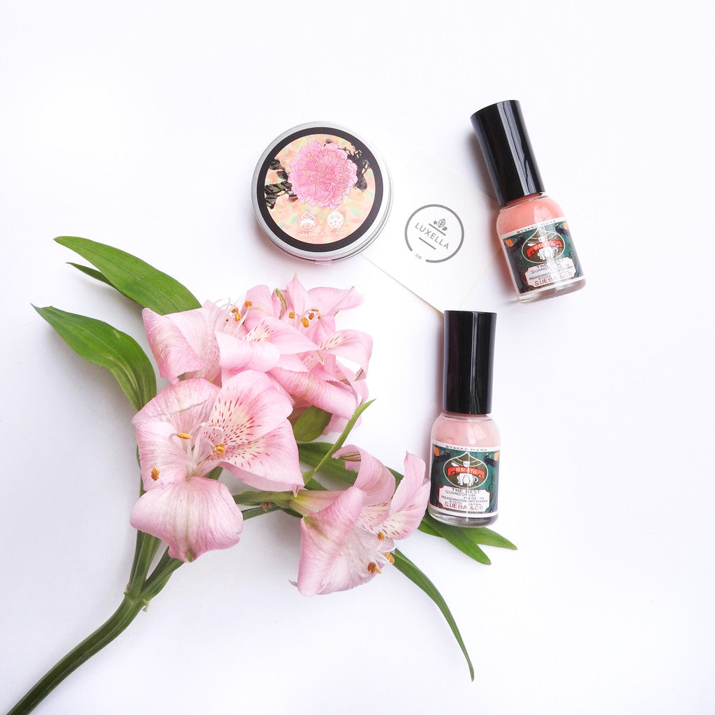 Gofun Nail Polish & Hand Cream Set