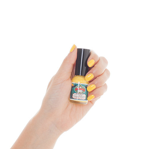 gofun nail polish banana minion yellow