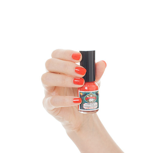 Gofun Nail Polish Bright Red