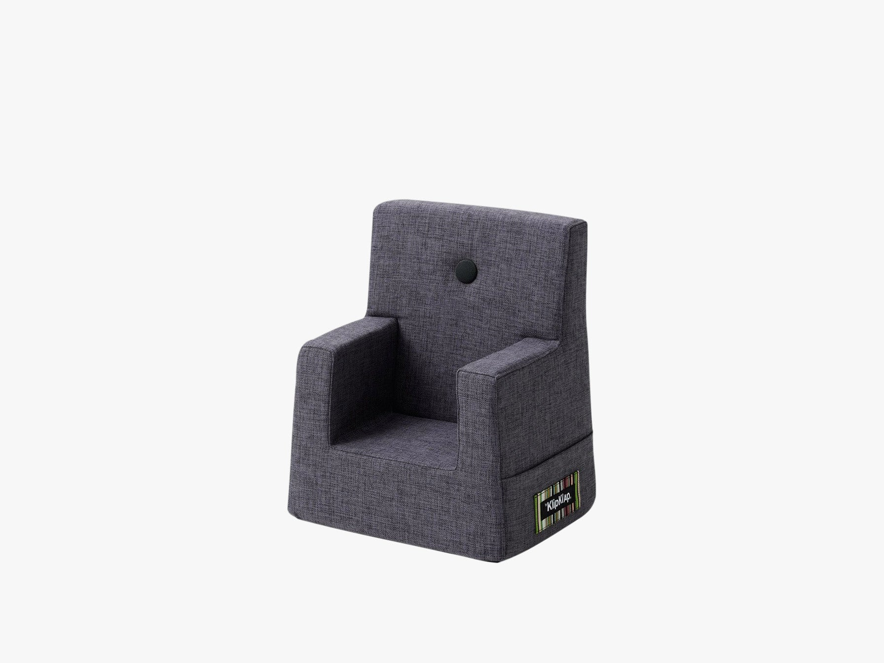 KK Kids Chair, Blågrå m. Grå fra By KlipKlap