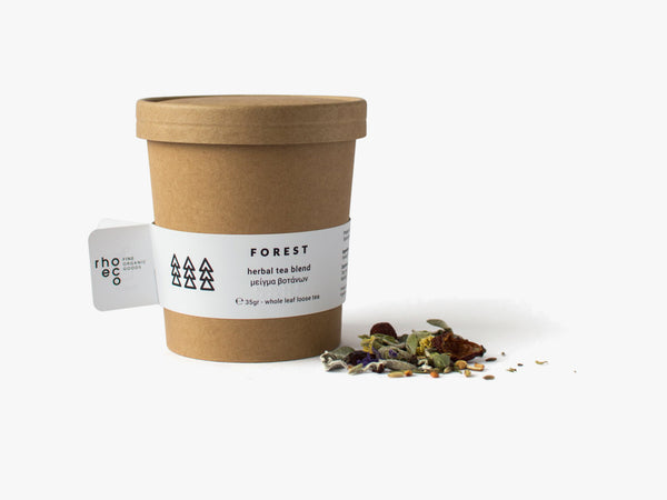 FOREST herbal tea blend fra rhoeco