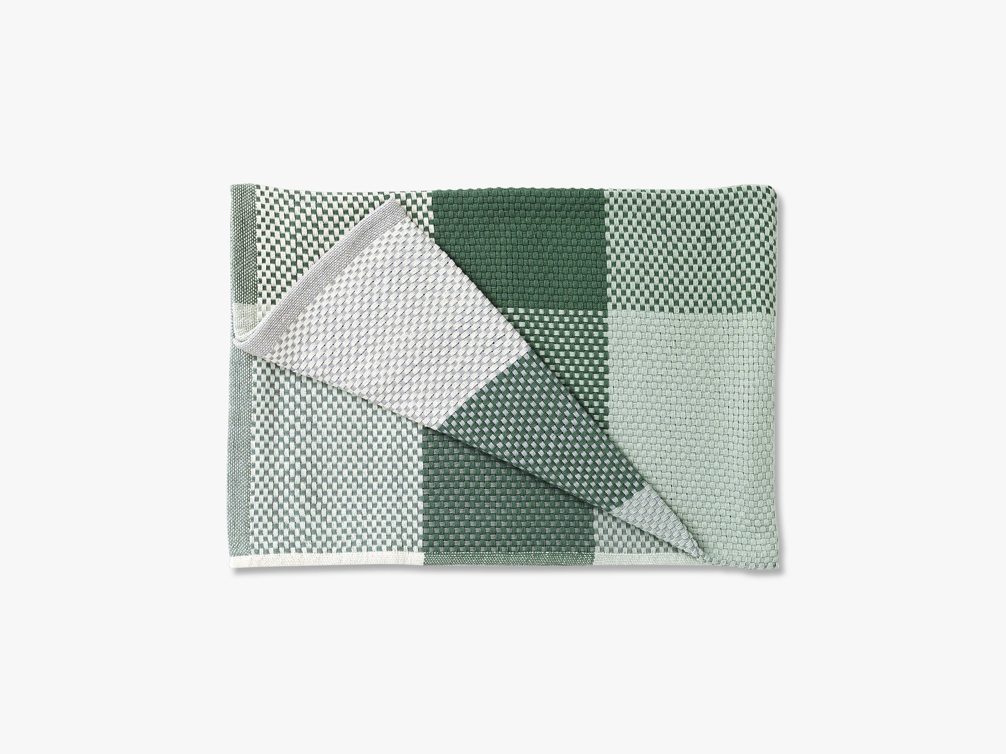 Loom Throw, Green fra Muuto