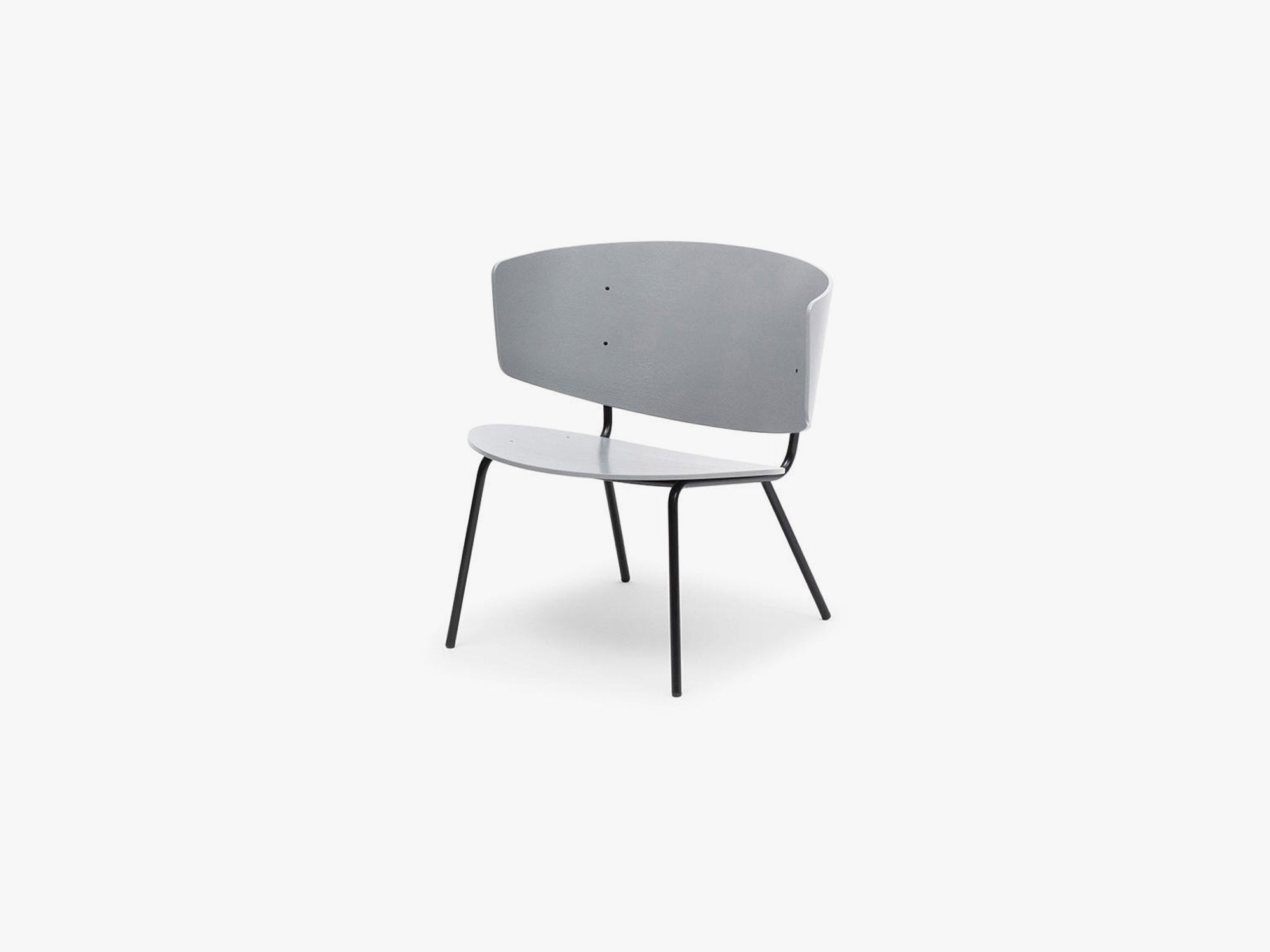 Herman Lounge Chair - Grey fra Ferm Living