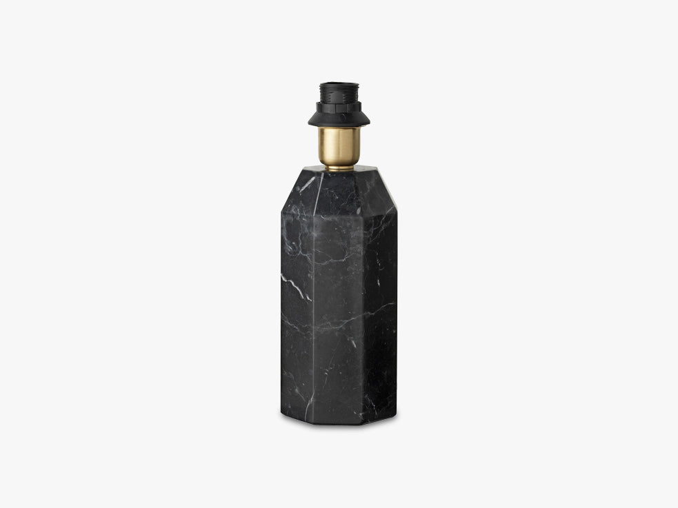 Black base small, Black marble fra Louise Roe