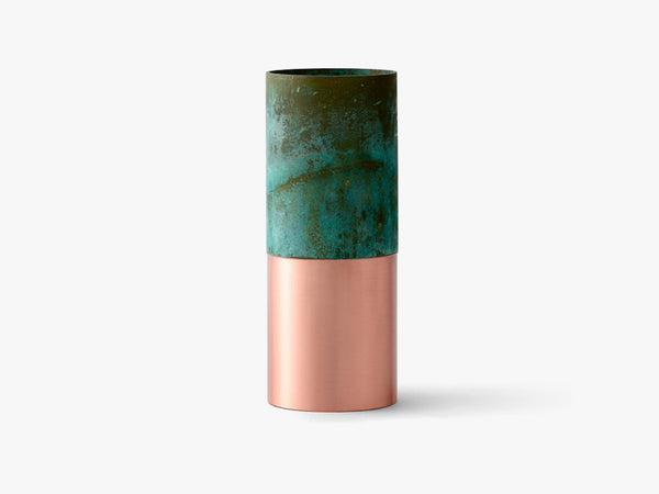 True Colour Vase LP3, Green copper fra &tradition