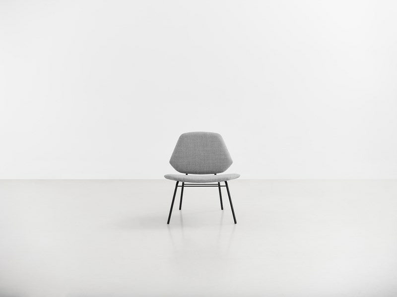 Lean Lounge Chair, Grå fra WOUD