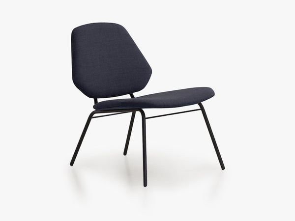 Lean Lounge Chair, Mørkeblå fra WOUD