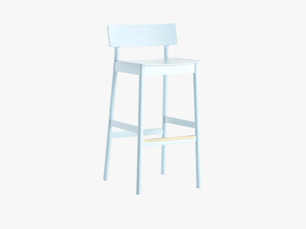 Pause Counter Chair - Light Blue fra WOUD