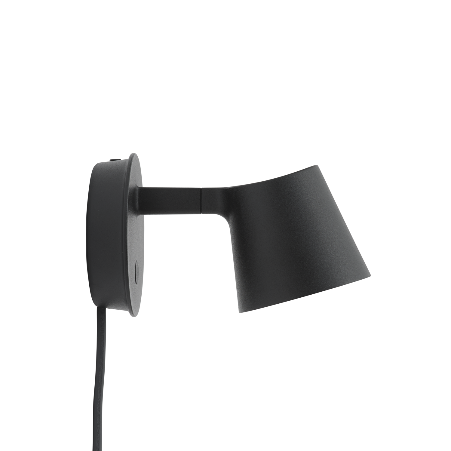 Tip Wall Lamp, Black fra Muuto