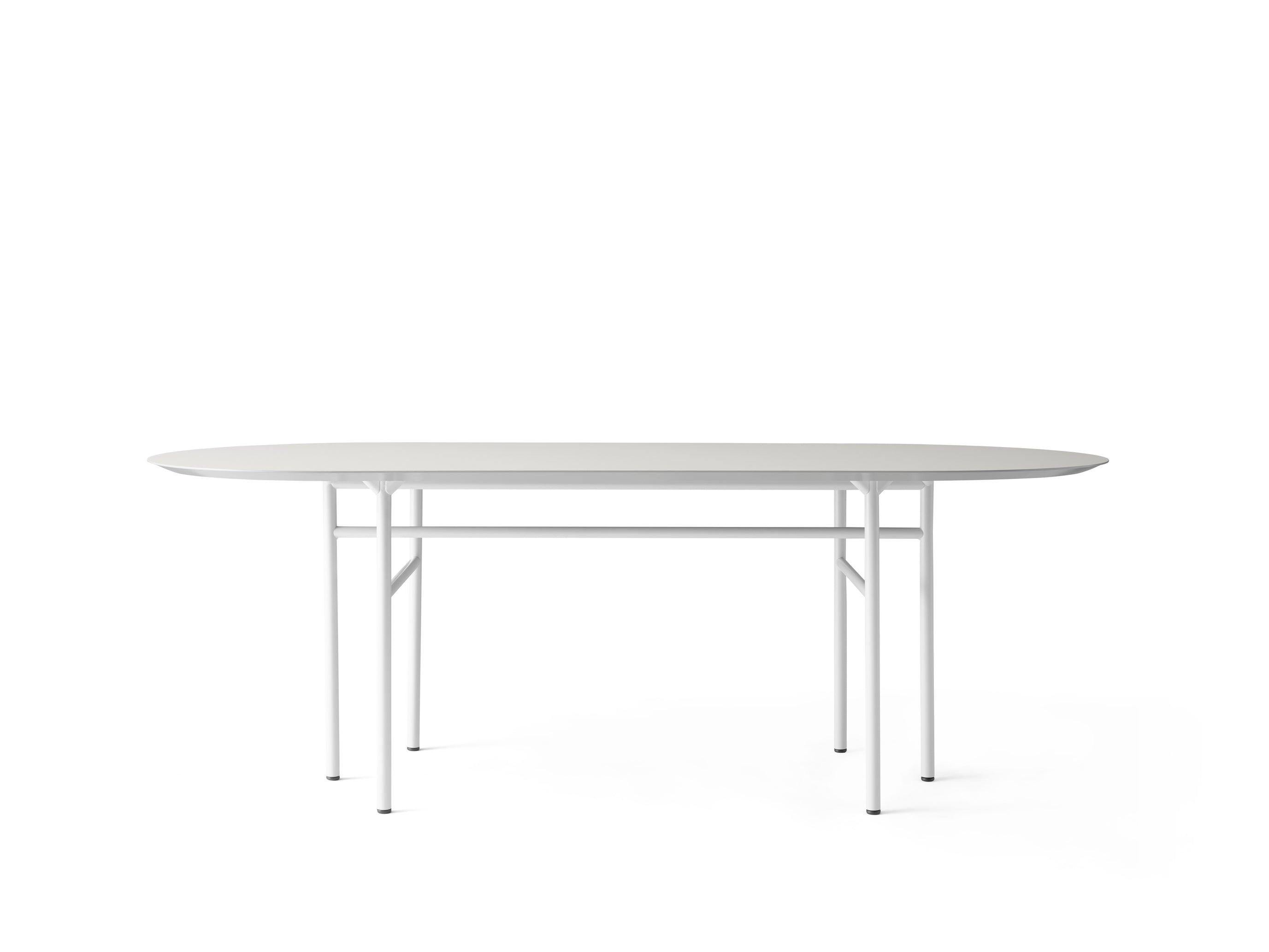 Snaregade Table Oval, Light Grey fra Menu