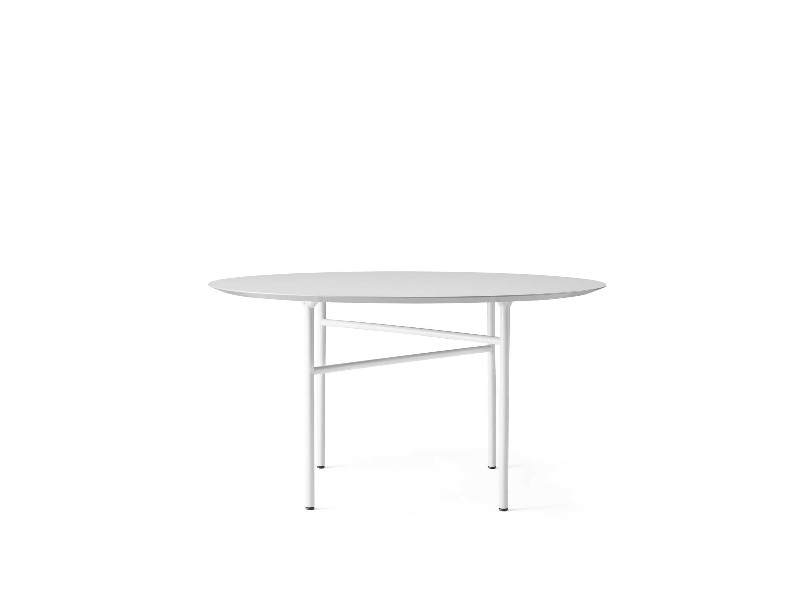 Snaregade Table Round Ø120 cm, Light Grey fra Menu