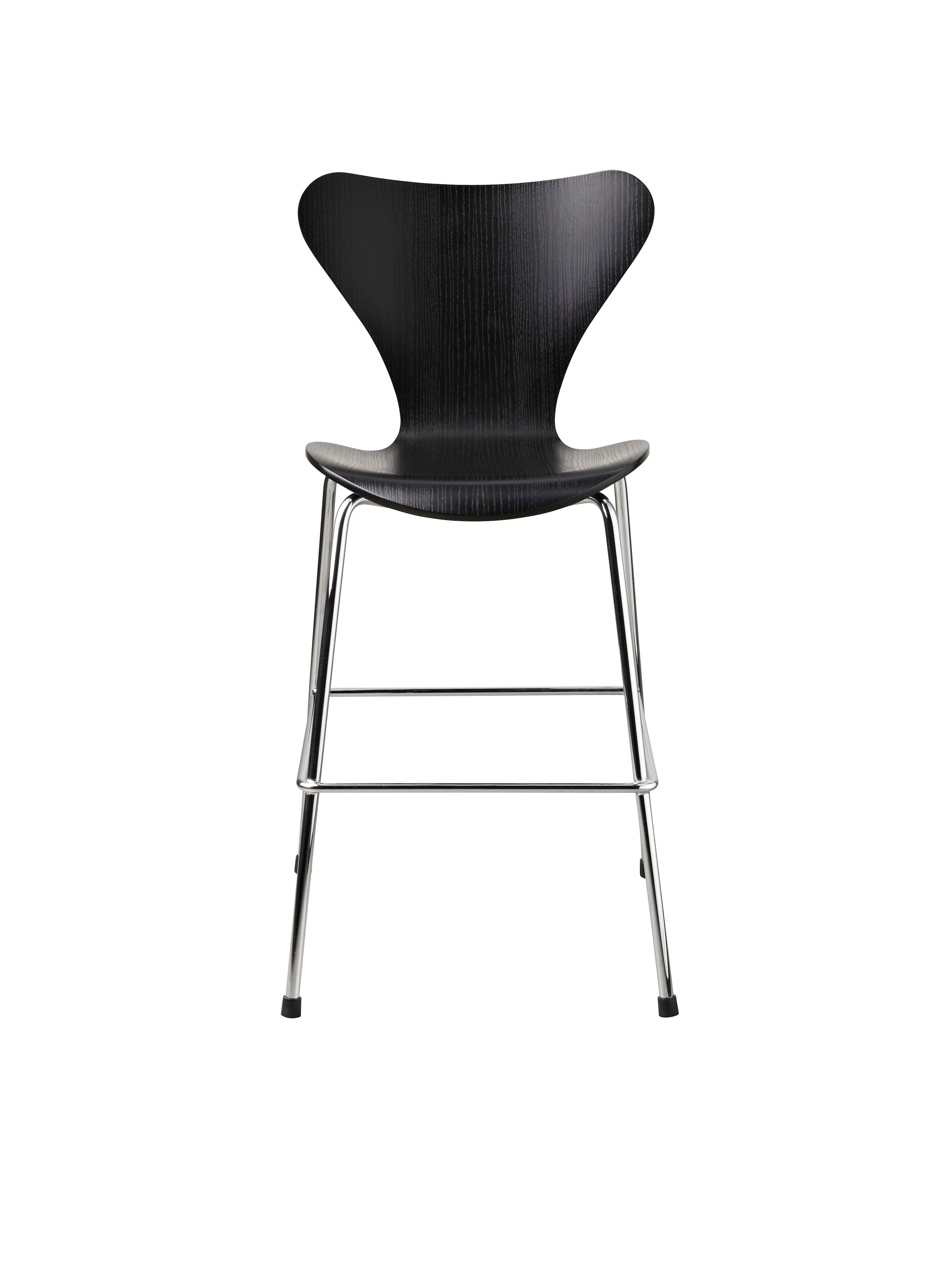 Series 7™ junior, Black/chrome fra Fritz Hansen
