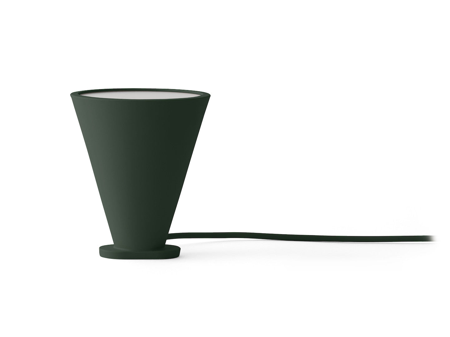 Bollard Lampe, Dark Green fra Menu