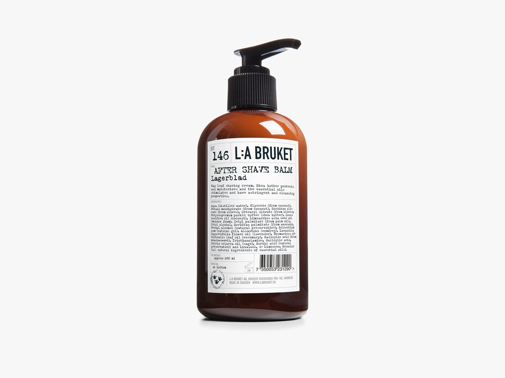 146 Aftershave Balm Laurbærblad fra L:A Bruket