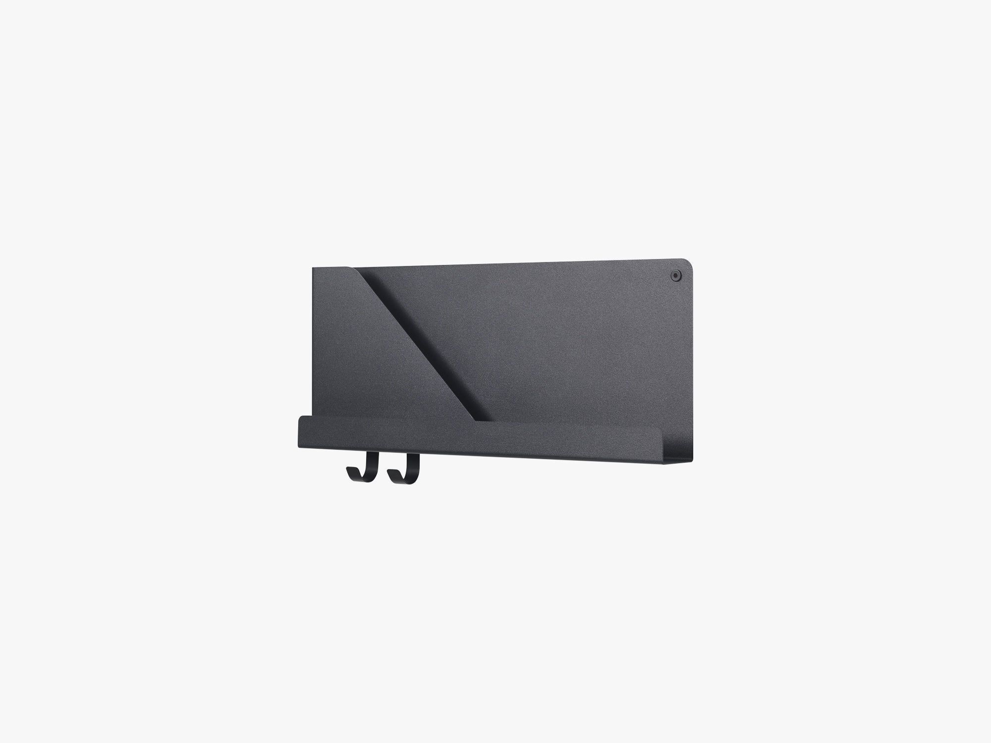 Folded Shelves / Small, Black fra Muuto