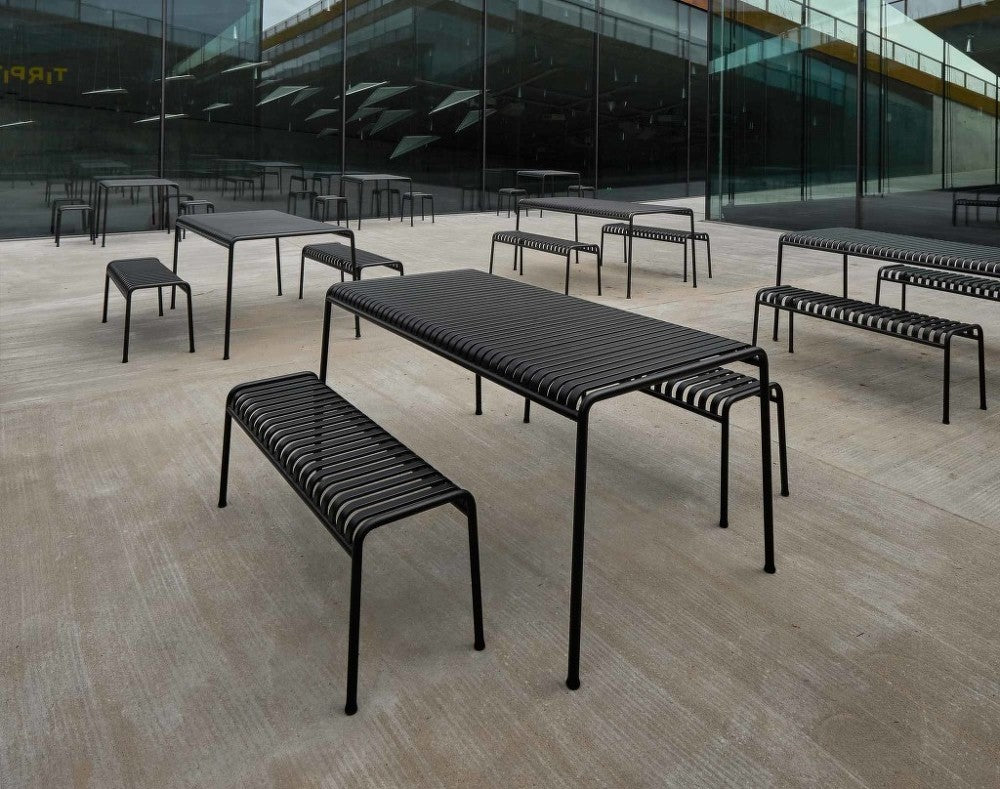 Palissade Bench, Anthracite fra HAY