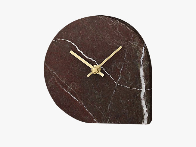 Marble Clock - Red fra AYTM