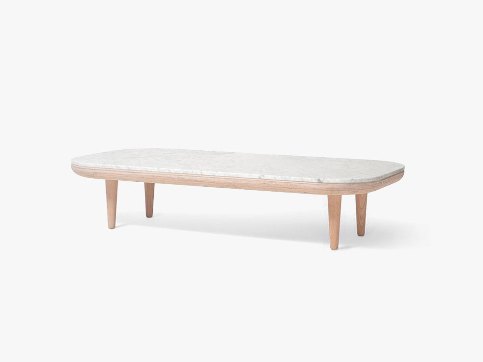 Fly Table - SC5 - Bianco Carrara marble fra &tradition