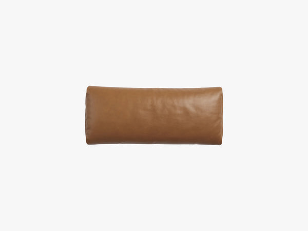 Outline Daybed, Pude 70x30cm, Cognac Refine Leather fra Muuto