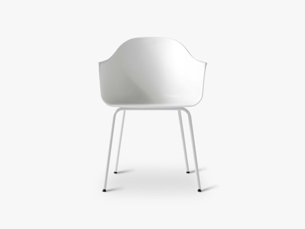 Harbour Chair, Light Grey/Light Grey Steel Base fra Menu