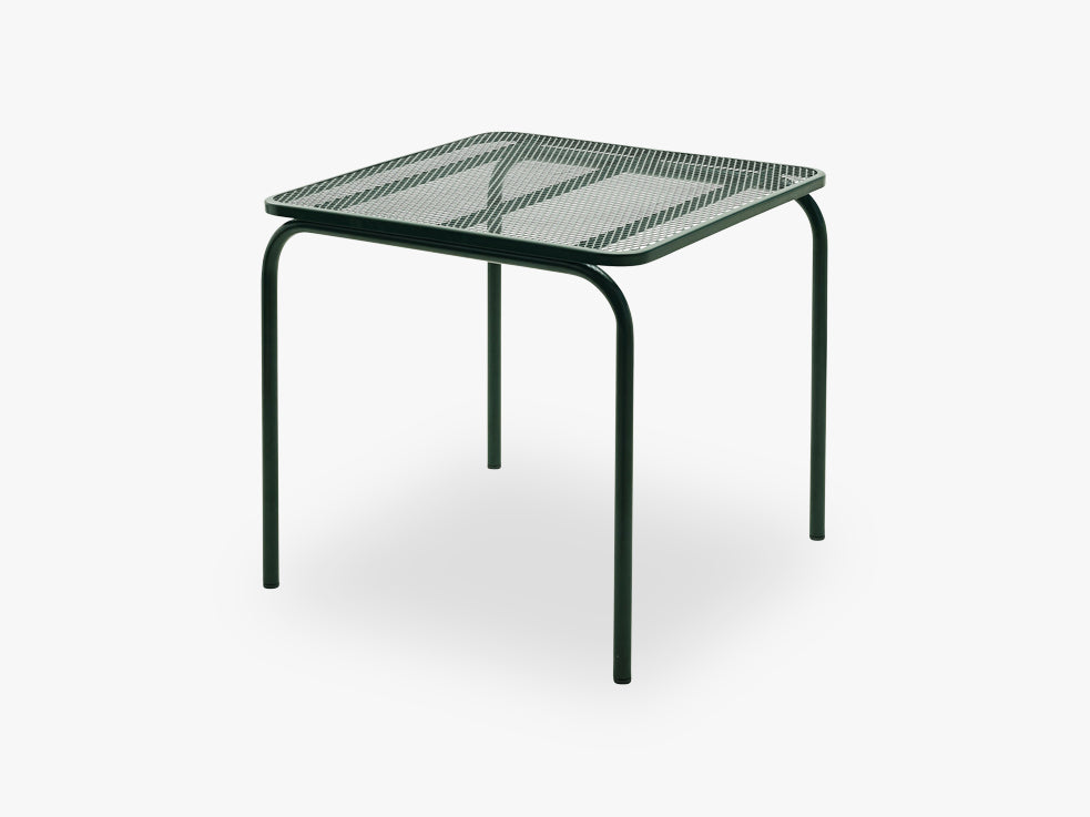 Mira Table 80x80, Hunter Green fra SKAGERAK