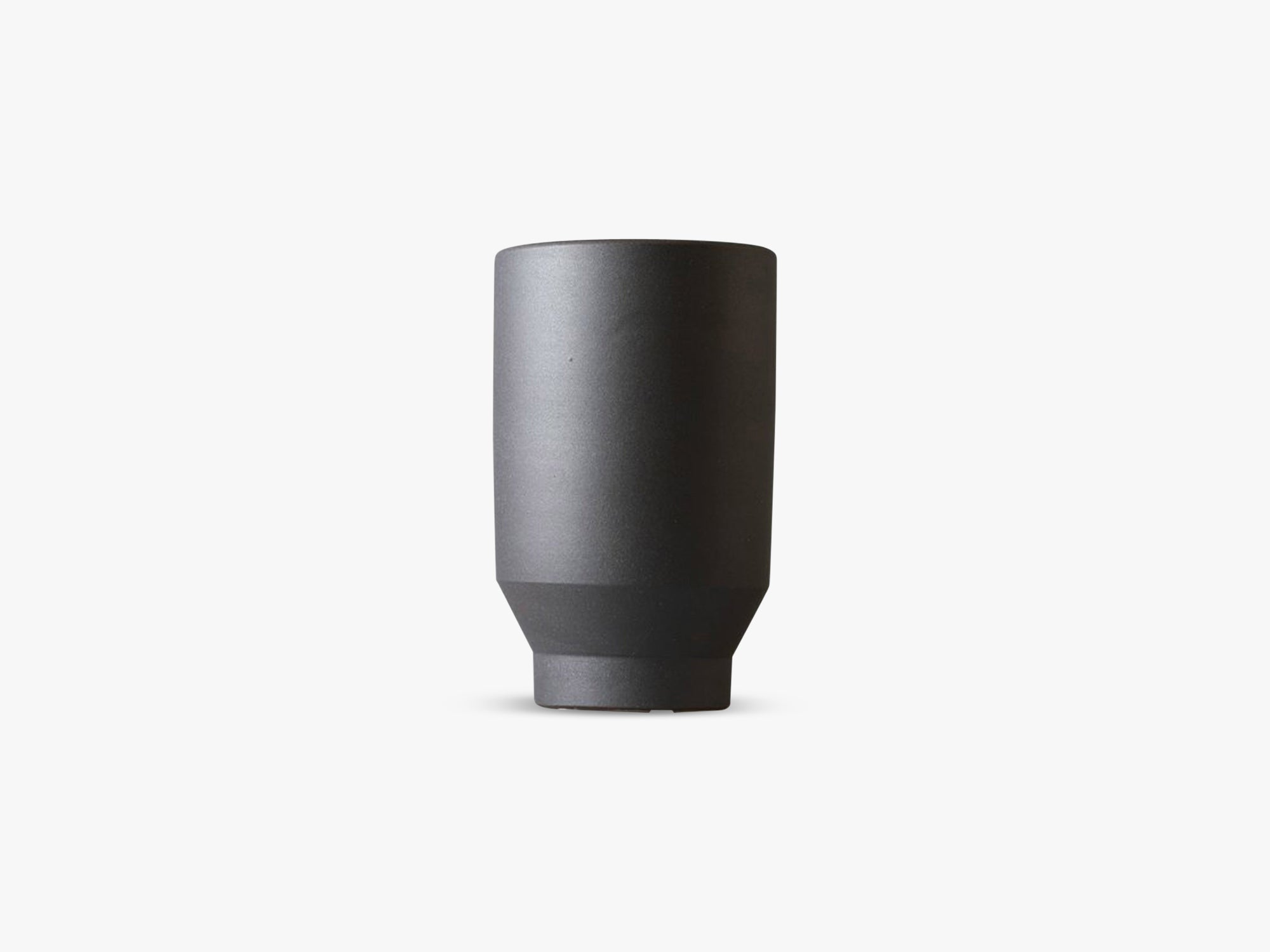 Boyhood Ceramic Pot - Cylinder, Matt Dark fra Specktrum