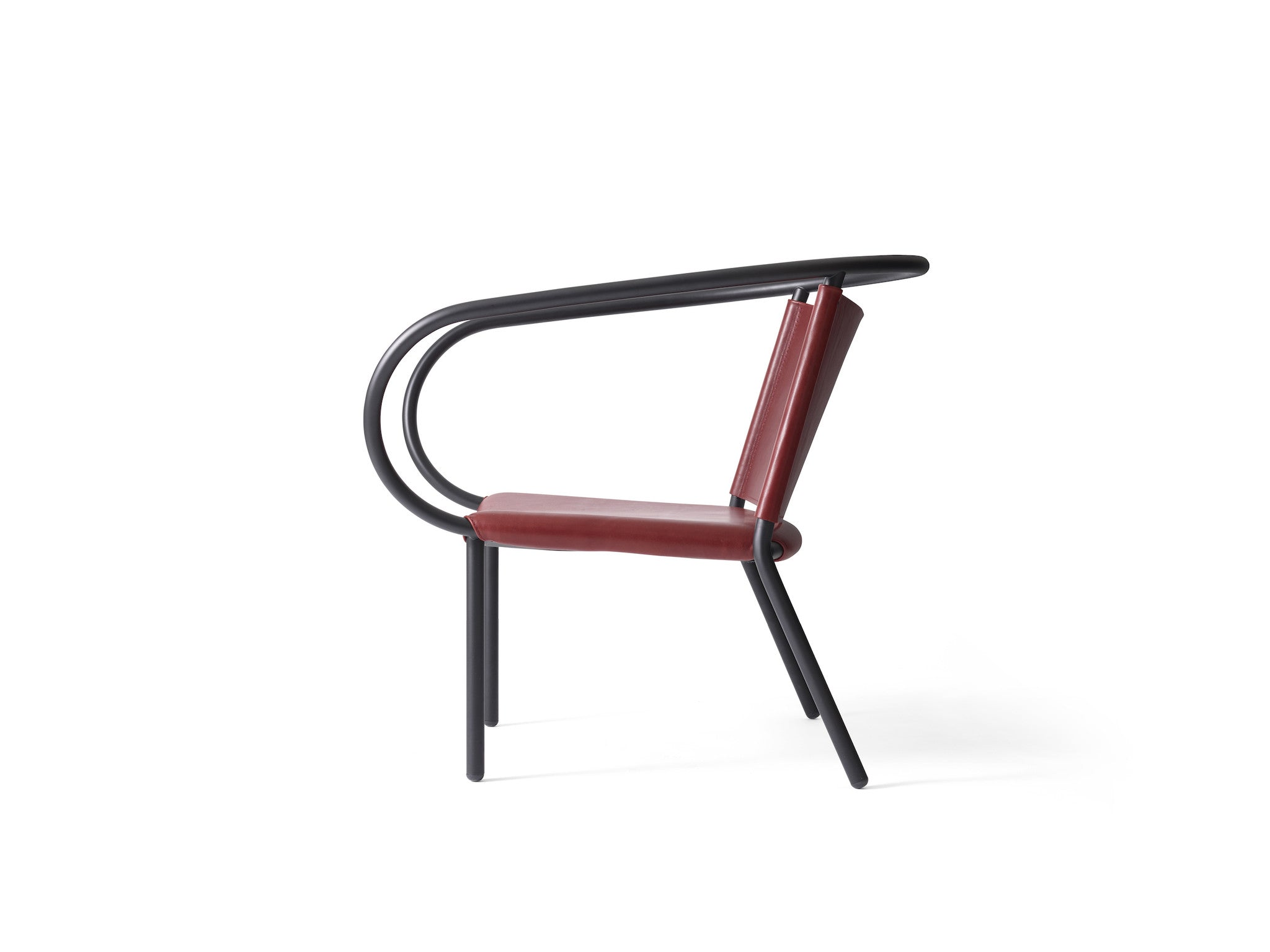 Afteroom Lounge Chair - Burgundy fra Menu