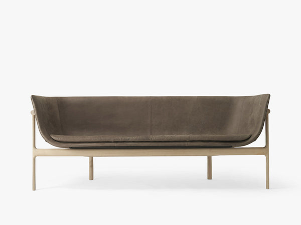 Tailor, Lounge Sofa, Natural Oak/Dark Brown fra Menu