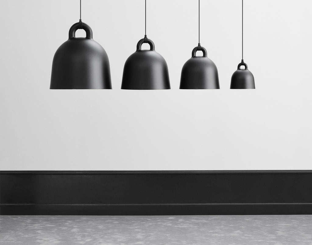 Bell Lamp Medium Grey fra Normann Copenhagen