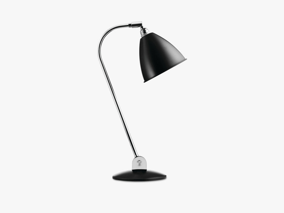 Bestlite BL2 Table Lamp - Ø16 - Crome Base, Black fra GUBI