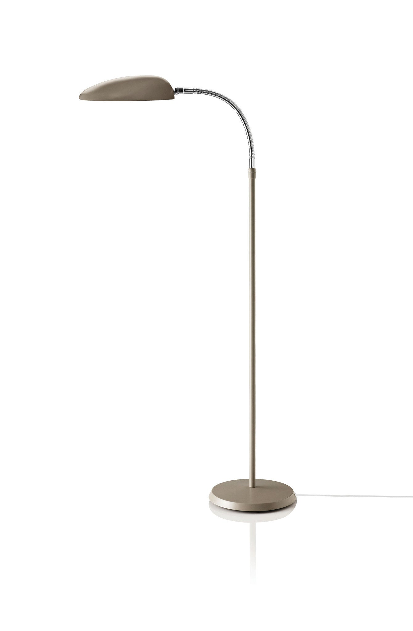 Cobra Floor Lamp, Warm Grey fra GUBI