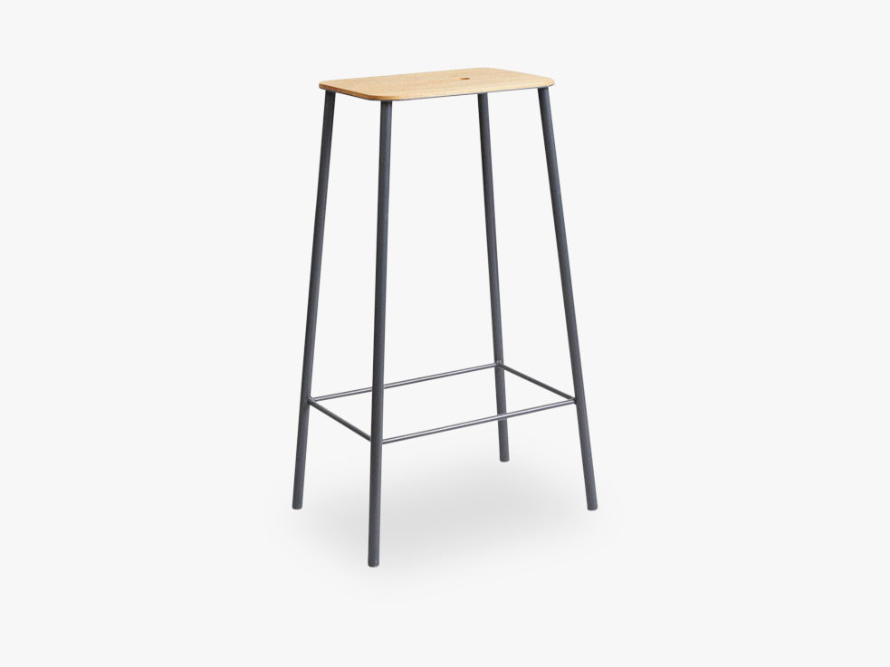 Adam Stool H76, Grey fra FRAMA