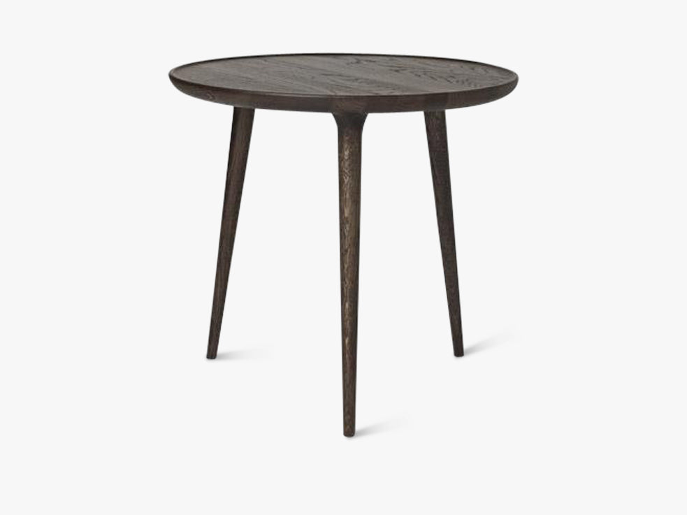 Accent Side Table Large, Sirka Grey Stained Oak fra Mater