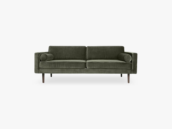 Sofa Wind 100% Poly, grape leaf fra Broste Copenhagen