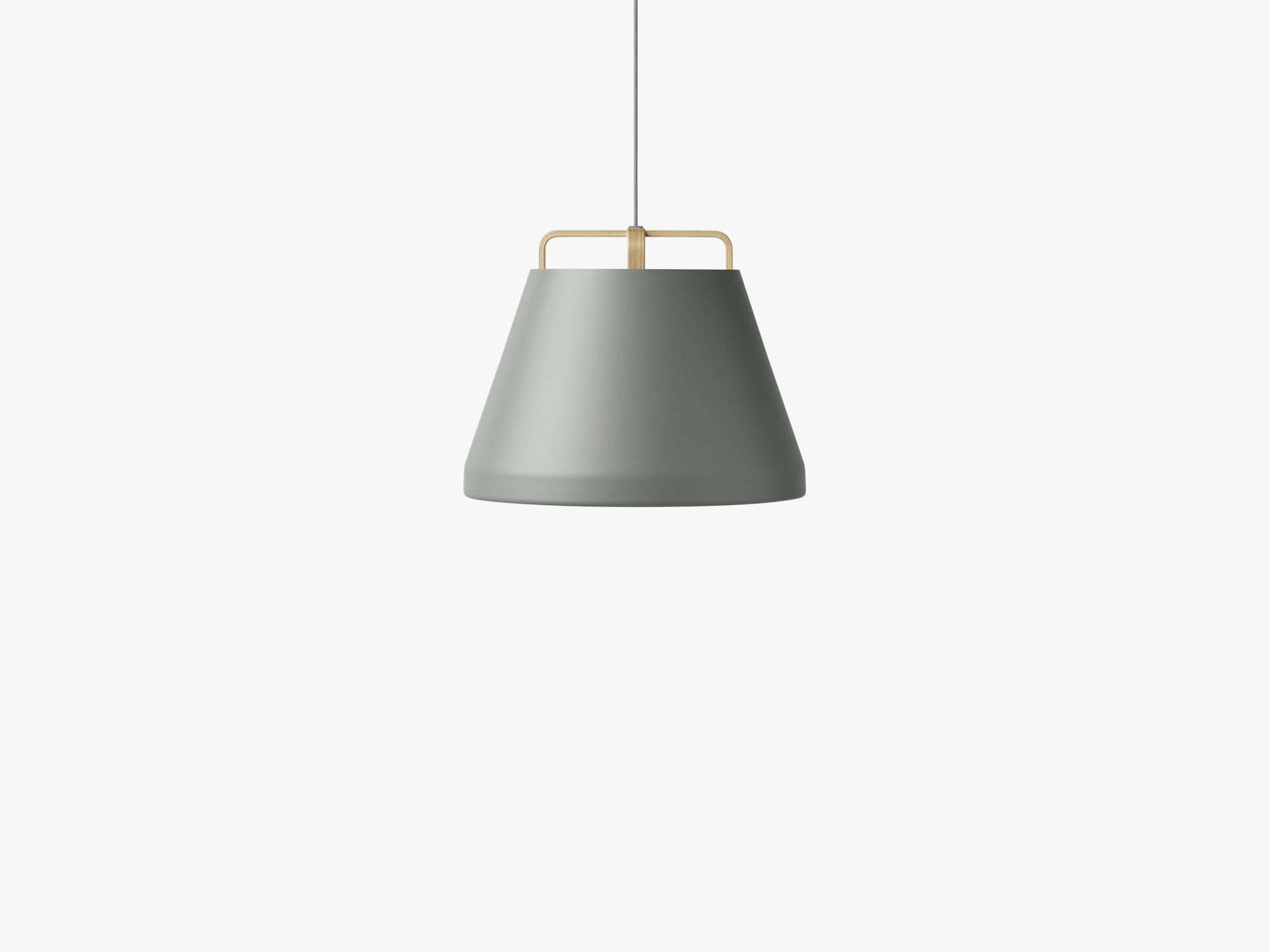 Voyage Pendant M1, Ø46 Dusty Green/Oak fra MILLION
