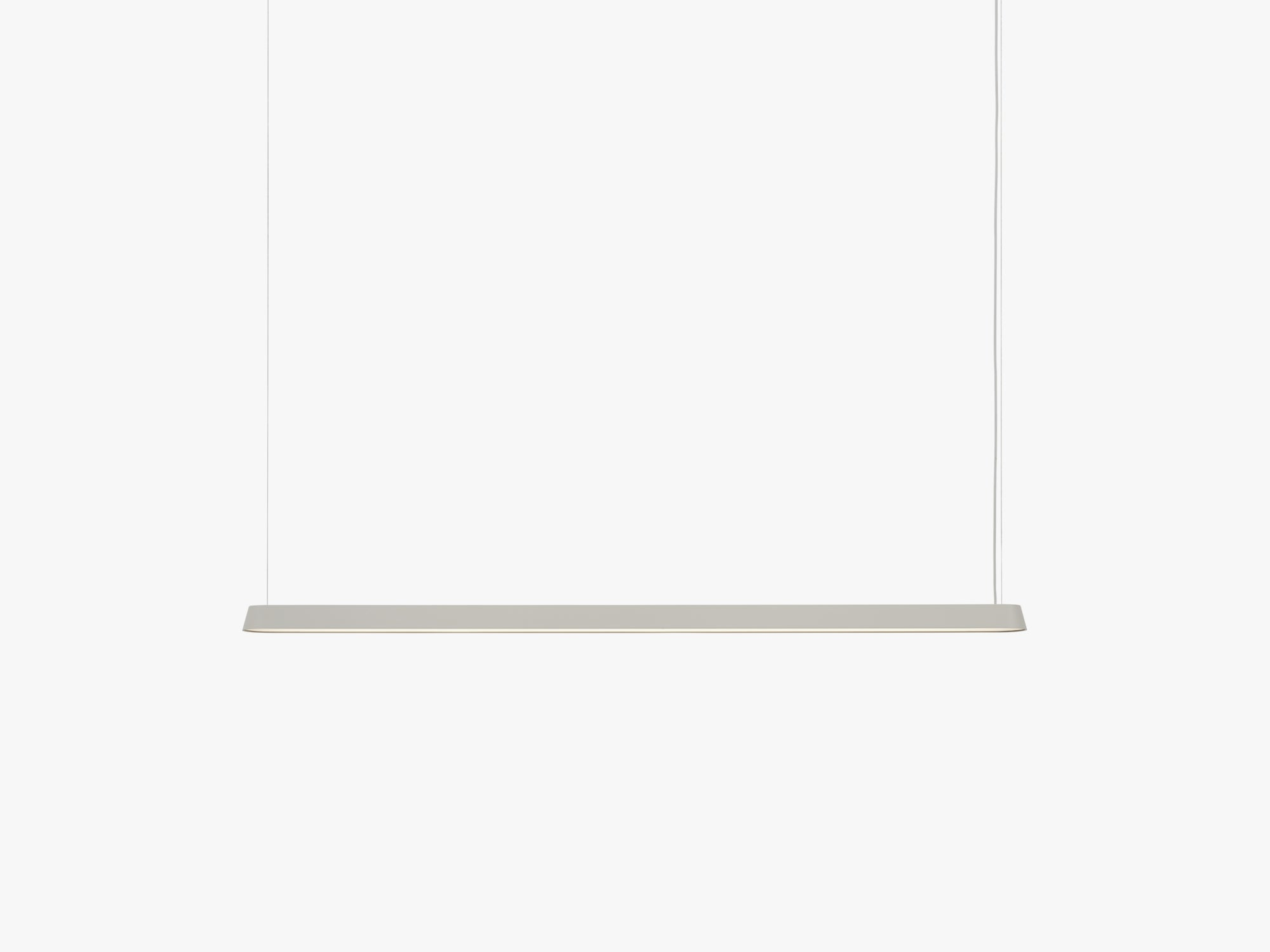 Linear Pendant Lamp Large, Grey fra Muuto