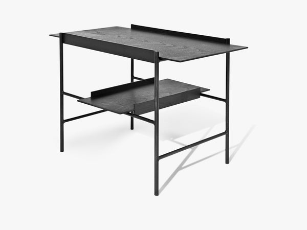 Kanso Tray Table, Black Ash/Black fra Please Wait To Be Seated