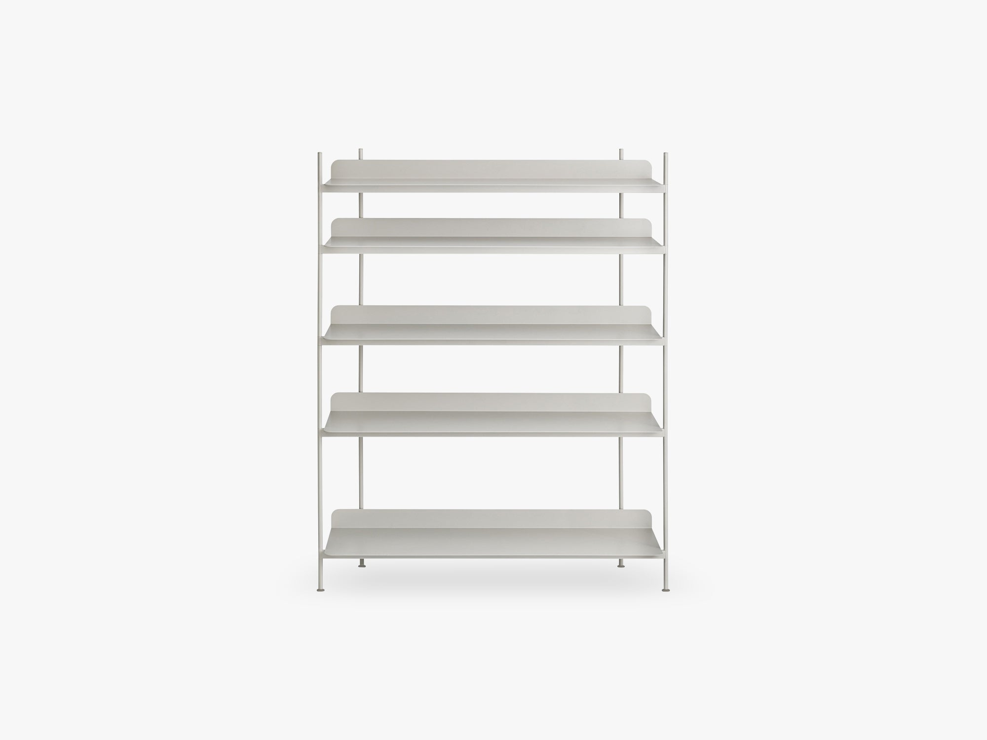 Compile Shelving System / Configuration 3, Grey fra Muuto