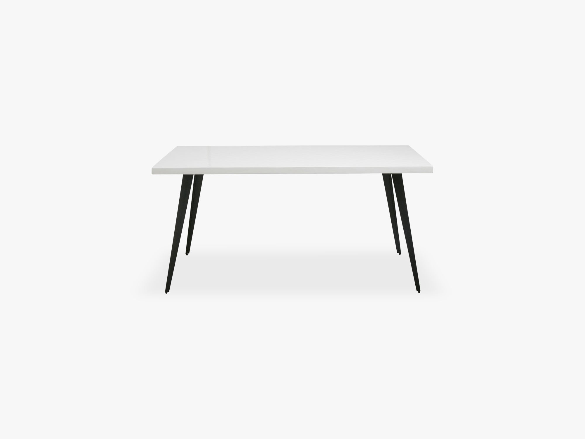 Table, white shiny herringbone, small fra Nordal