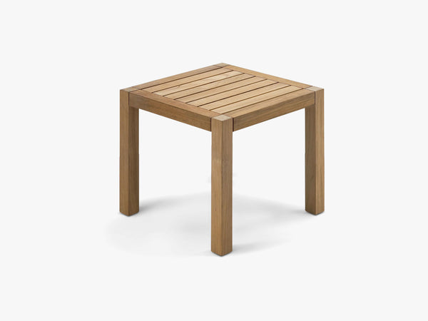 Square Table, Large, Teak fra SKAGERAK