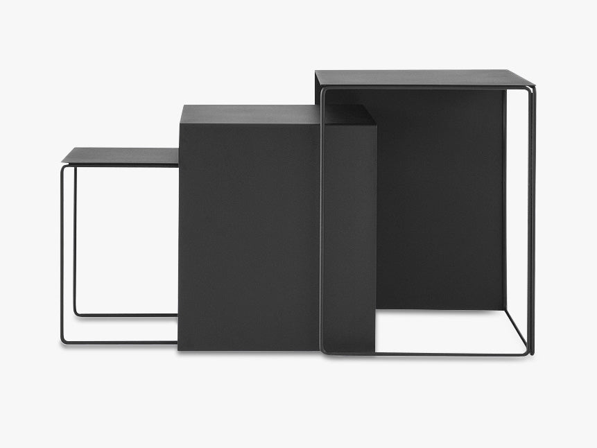 Cluster Tables - Black fra Ferm Living