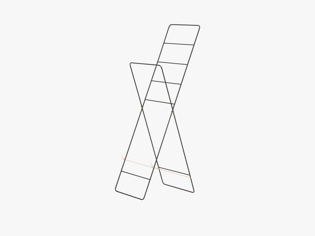 Herman Clothes Stand - Black fra Ferm Living