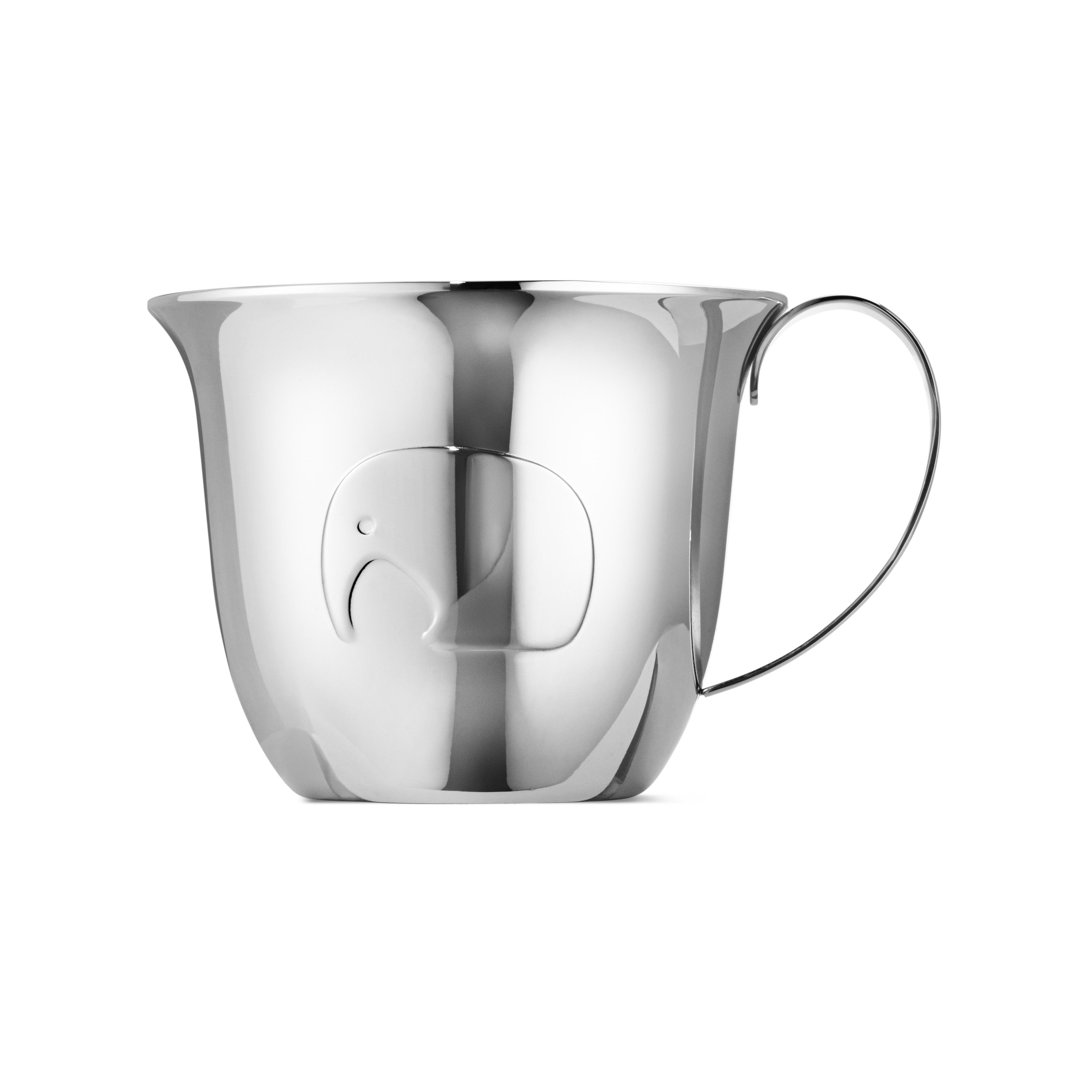 Elephant Child, Cup & Plate fra Georg Jensen