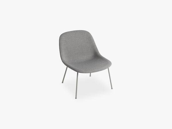 Fiber Lounge Chair - Tube Base fra Muuto