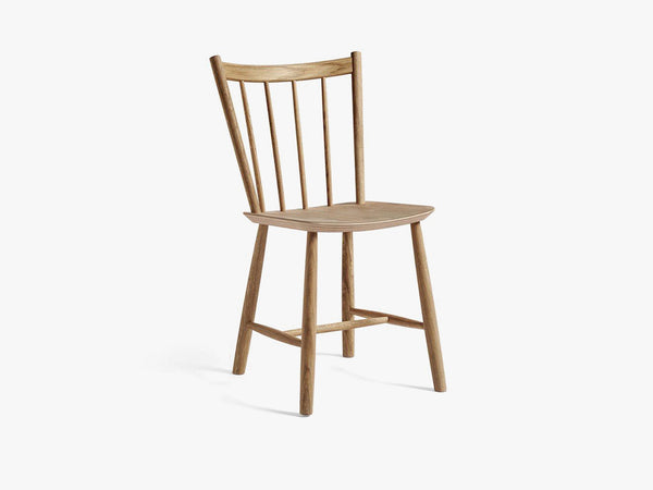 J41 Chair, oiled oak fra HAY