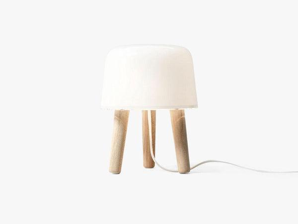 Milk Table Lamp - NA1, White cord fra &tradition