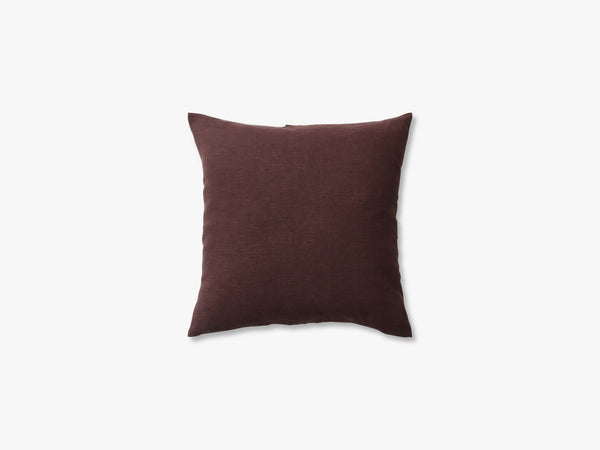 Collect Cushion SC28 - 50x50, Burgundy/Linen fra &tradition
