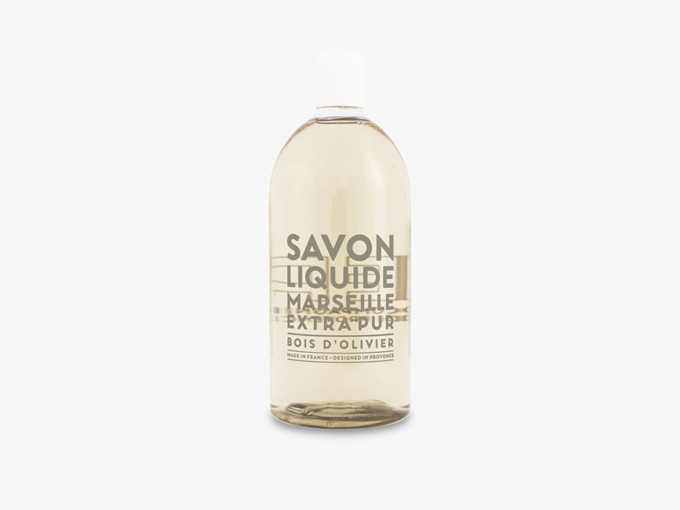 EP Liquid Soap Refill 1000ml, Olive Wood fra Savon De Marseille